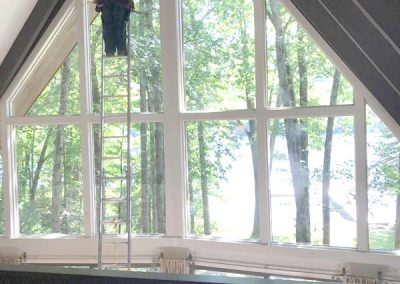 Thompson's Window Cleaning--Chalet Windows